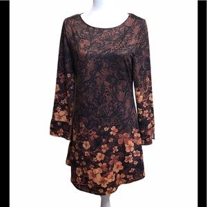 Azalea by Firmiana Floral Mini Dress ~MEDIUM